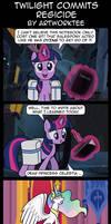 Comic: Twilight Sparkle Commits Regicide