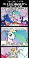 Comic: The Only Way to Save Equestria