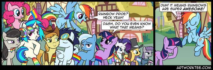 Comic: Rainbow's Pride by artwork-tee