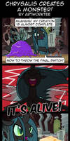 Comic: Chrysalis Creates a Monster!