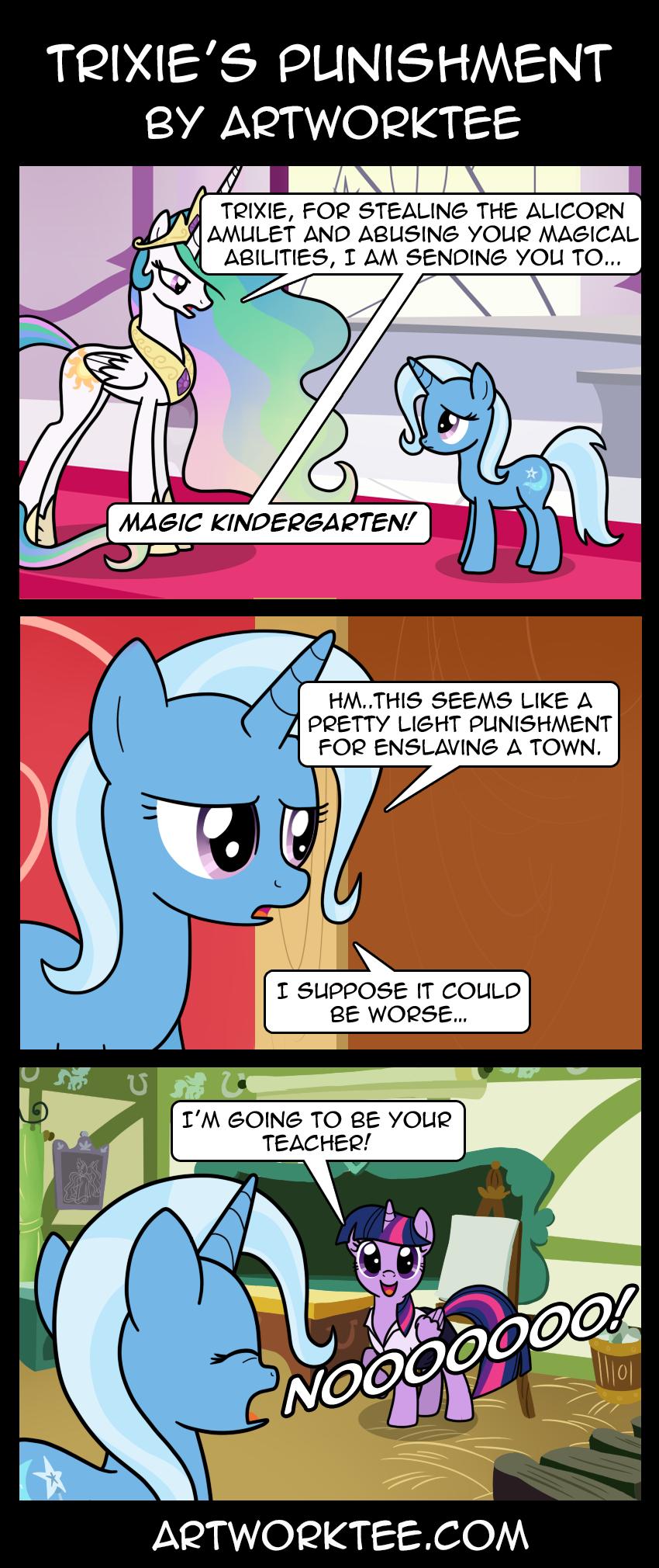 Trixie's Punishment