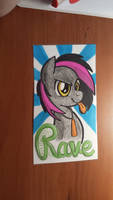 Commission: Rave Badge by artwork-tee