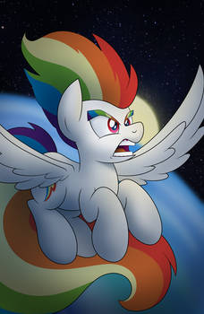 Super Saiyan Rainbow Dash