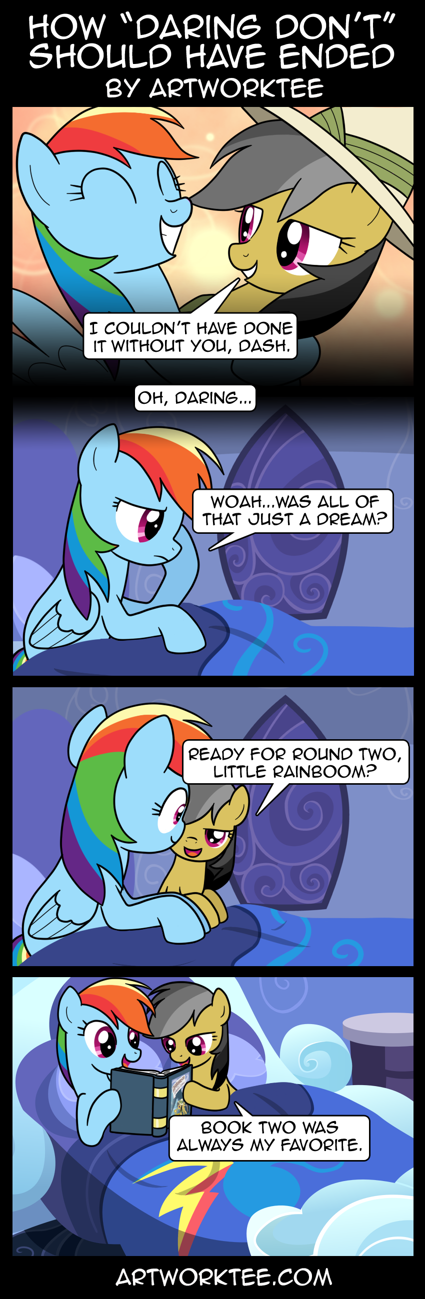 Comic: How Daring Don't Should Have Ended