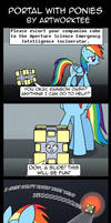 Portal With Ponies