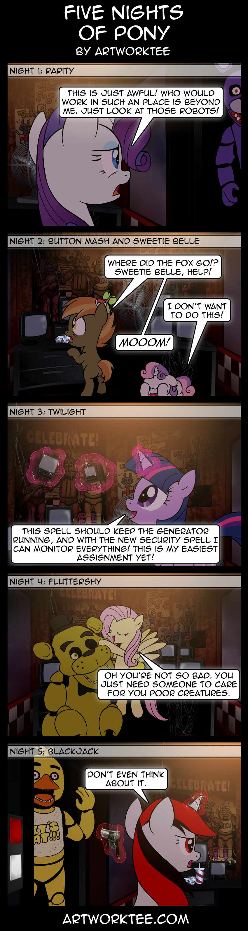 Five Nights Of Pony
