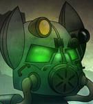 Steelhooves Helmet Detail