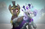 Commander Hurricane and Princess Platinum
