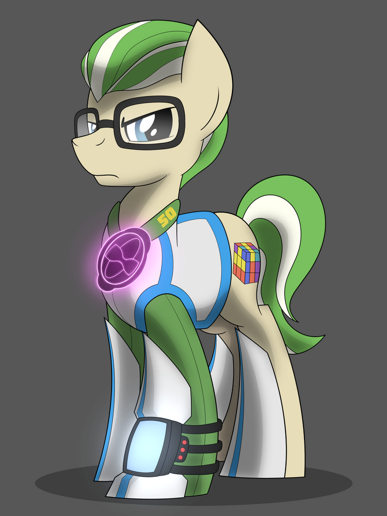 Fallout OC: Enigma by drawponies