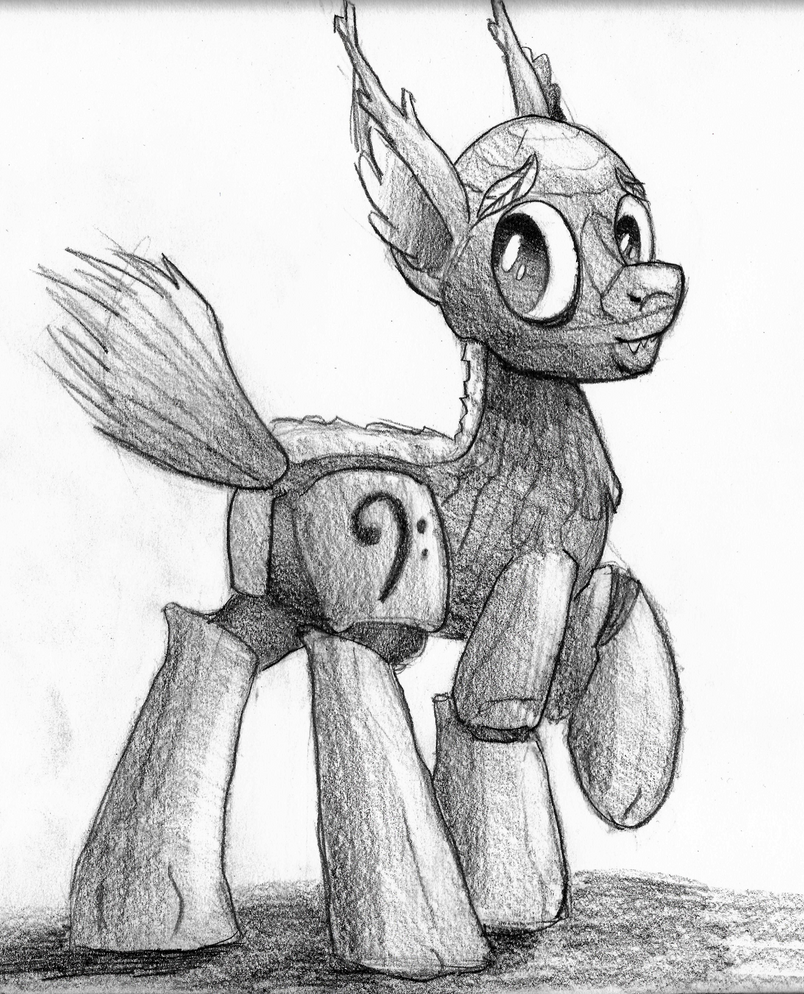 Timberwolf Pony By Artwork-tee On DeviantArt