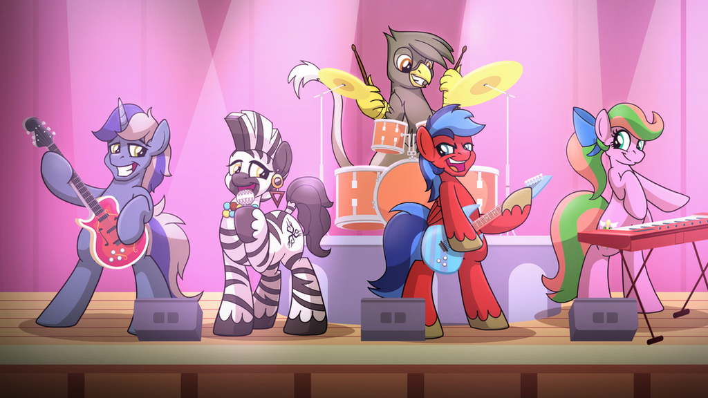 Are You Ready to ROCK!? by drawponies