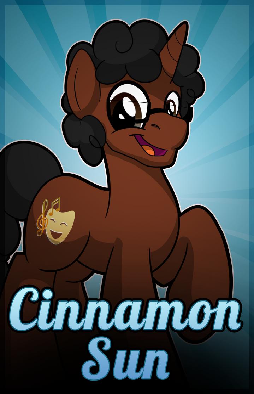 Cinnamon Sun by drawponies