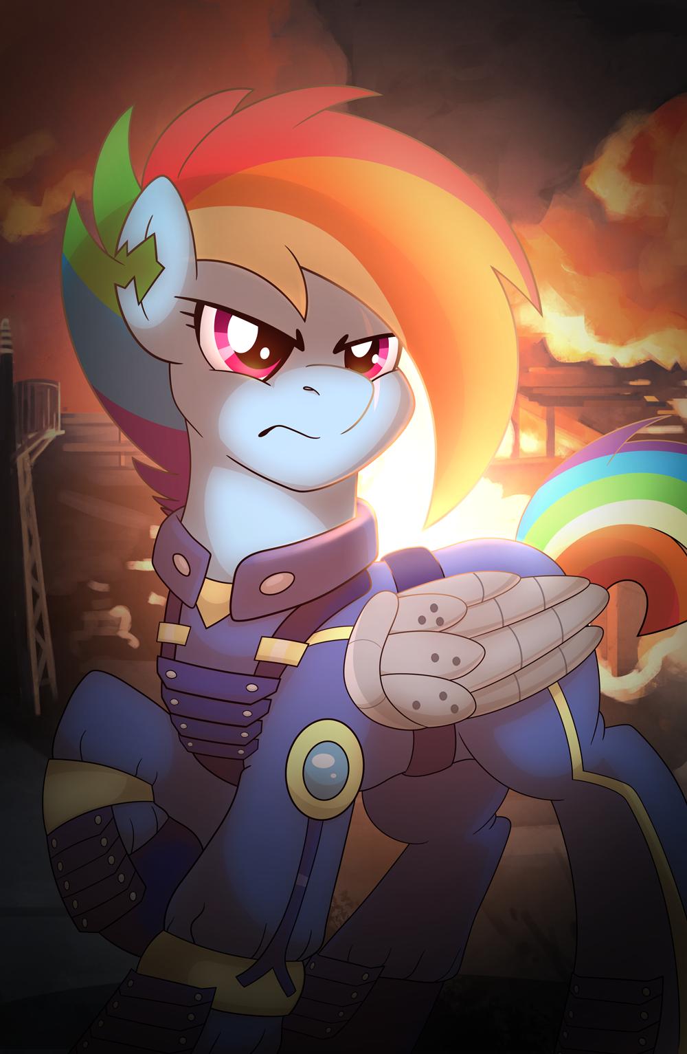 Apocalypse Rainbow Dash