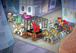 Flamerunner Behind Bars!