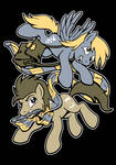 Derpy Hooves and Doctor Hooves