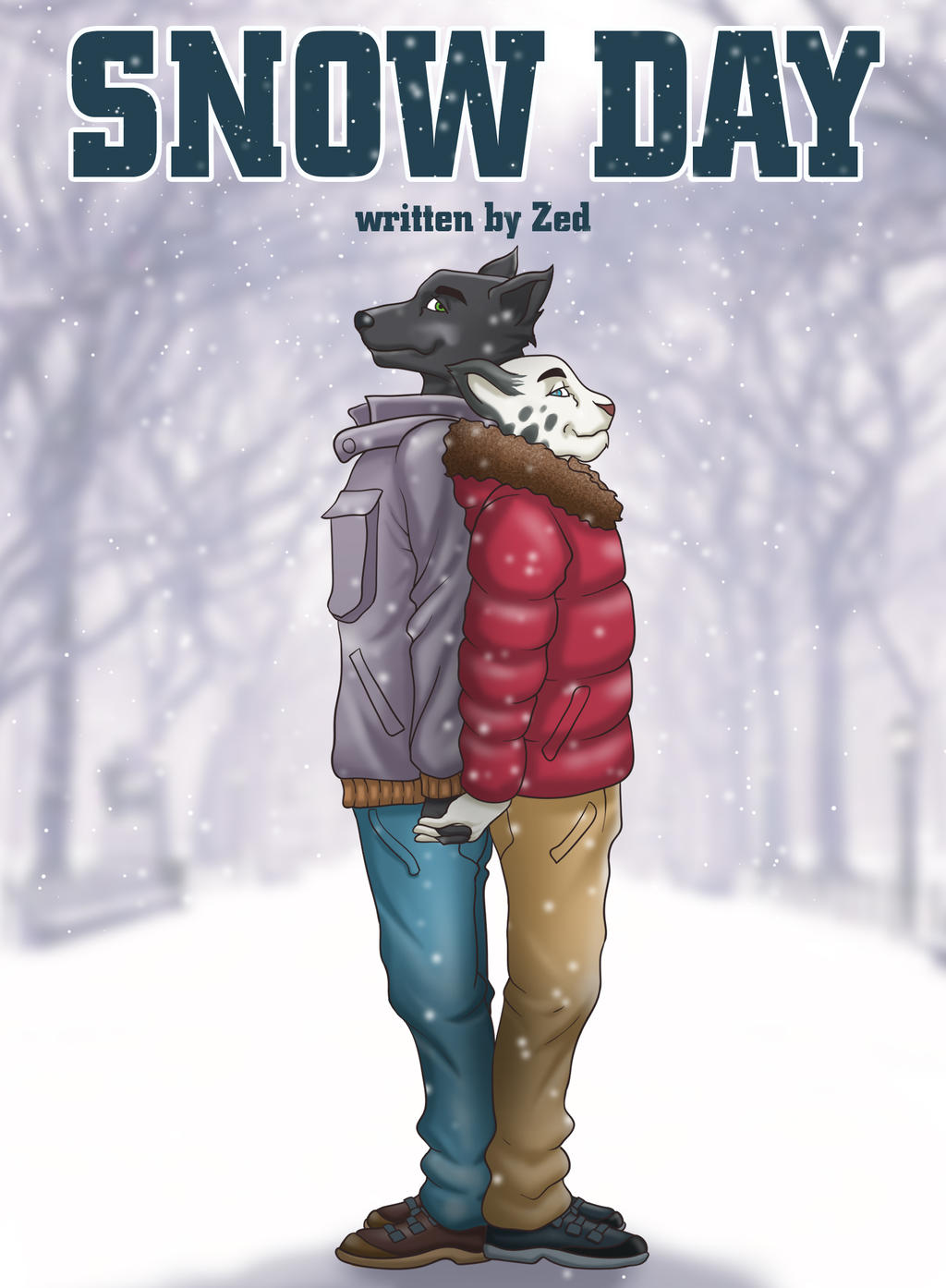 Snow Day Cover by artwork-tee