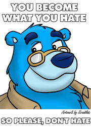 Dont Hate by artwork-tee