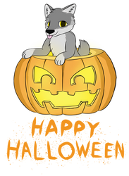 Jack-o-wolf by artwork-tee