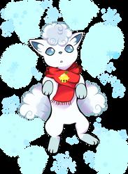 Alolan Vulpix White Christmas
