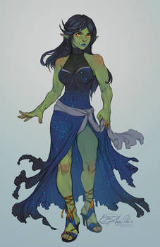 [C] Half-Orc Lady
