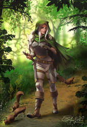Commission: Forest by AmberHarrisArt