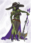 [A] Sketch Orc Witch: CLOSED