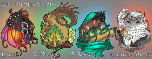 Egg Themed Adopts: 4/4 OPEN