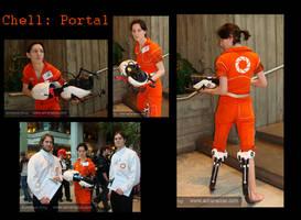 Chell Cosplay -portal