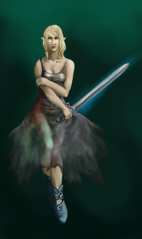 Eladrin Wizard by Lambda2441Eladrin Female Swordmage