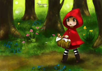 red riding hood by Lambda2441
