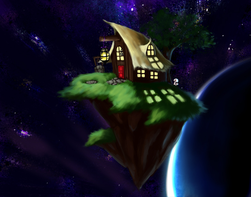 Space Cottage by Lambda2441