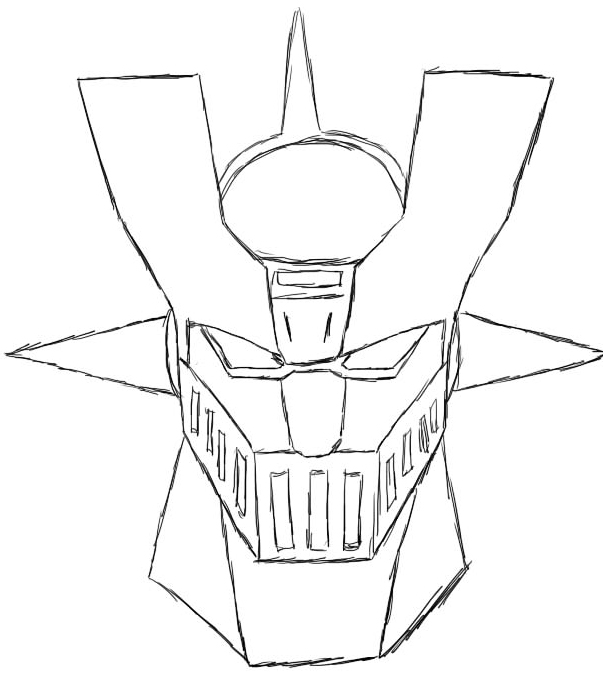 mazinger z coloring pages - photo#24