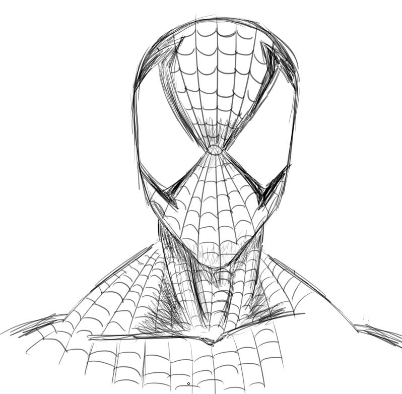 El post de la creatividad - Página 5 Spiderman_by_andore91-d3bwjjt