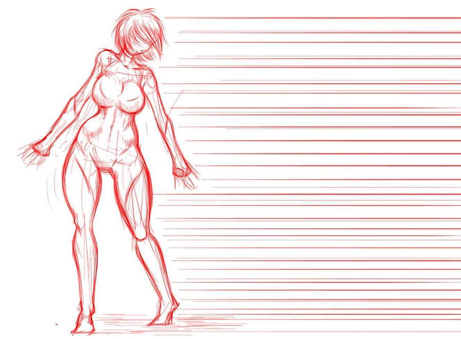 Hipnotronic sketch by Ecchi-Senshi