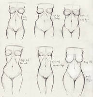 Hip Study original by Ecchi-Senshi