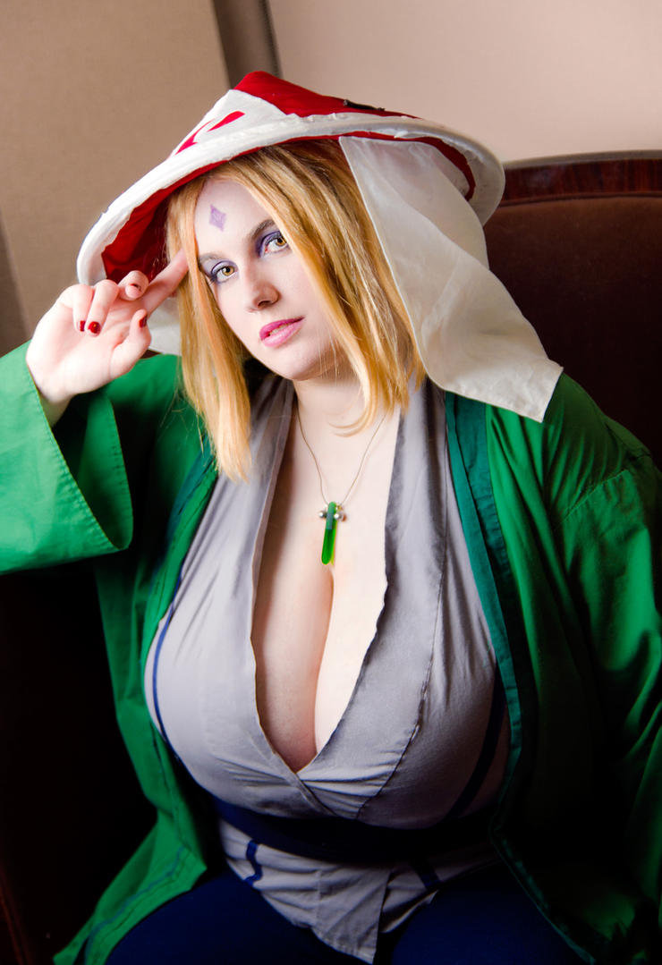 Naked cosplay of tsunade thanks for