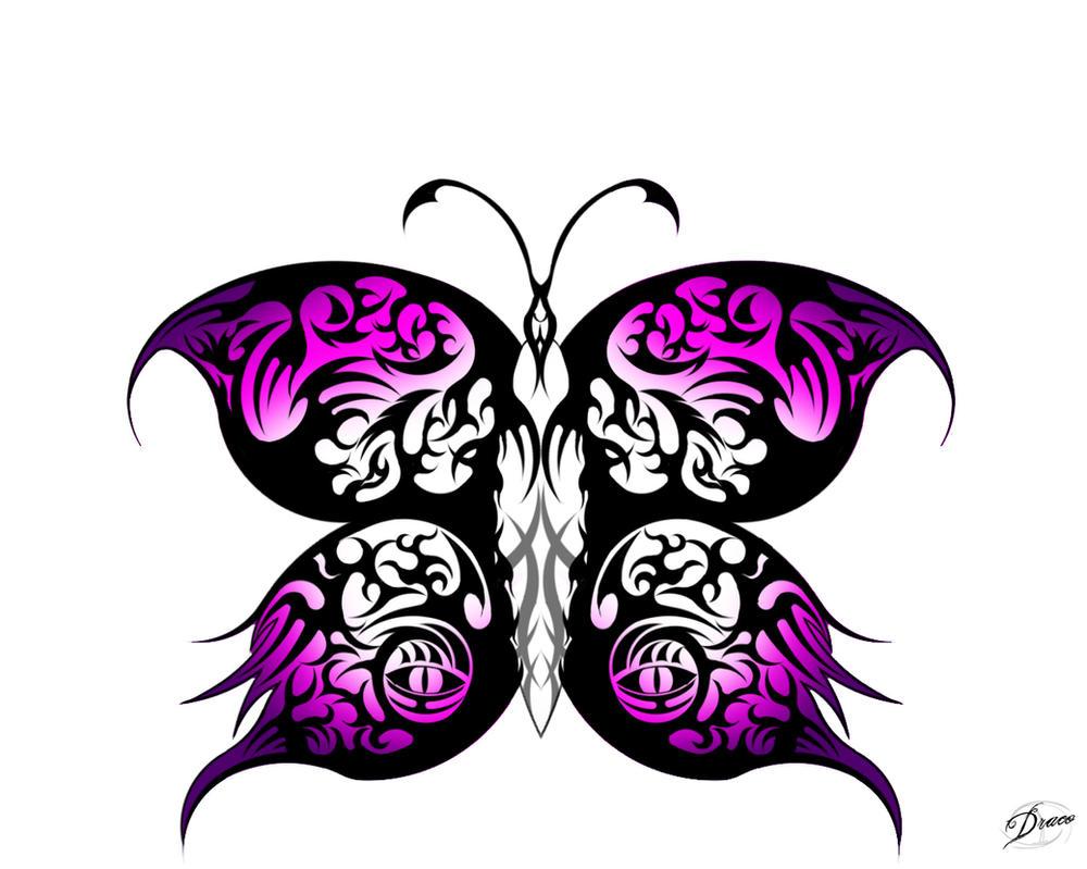 tribal butterfly drawings - HD1024×819