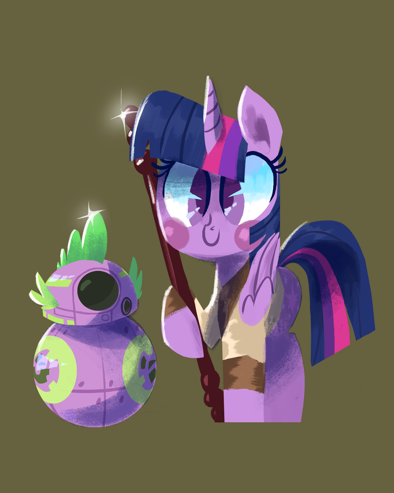 Reylight Sparkle and SK-8 by TalonsofIceandFire