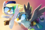 Derpy and Gabby