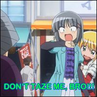 Don't Taze Me, Bro by Nanatsu-yoru
