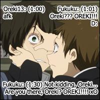 IMing with Oreki by Nanatsu-yoru