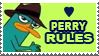 PERRY THE PLATYPUS STAMP XD