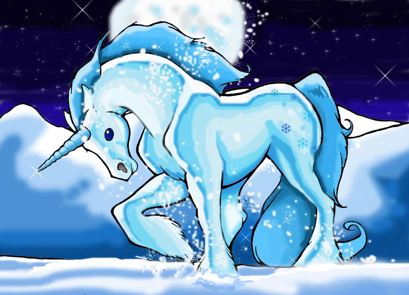 The Ice Unicorn by SonicMaster23 on DeviantArt