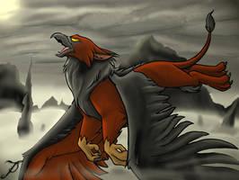 Dark Griffin by SonicMaster23