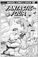 ARTHUR ADAMS Fantastic Four 166 cover inks by SKY-BOY