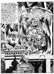 Wrightson 'Cain and Abel' recreation by SKY-BOY