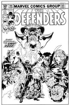 Defenders 96 cover recreation