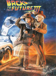 Back to the Future - Part 3 by danita-sonser