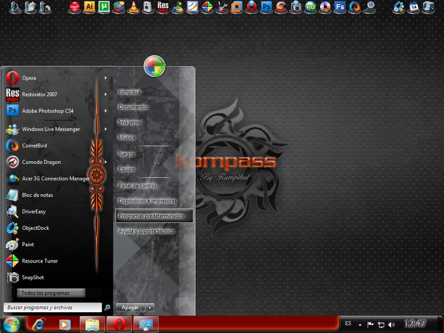 Kompass - Windows 7 VS by rumpibul