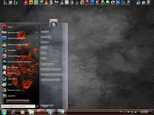 Fire Flower - Windows 7 VS
